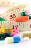 Weight Control with Medication Treatment. Royalty Free Stock Photography