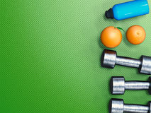 Weight and diet concept Royalty Free Stock Images