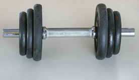 Weight dumbells Stock Photo
