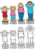 Weight Gain Stock Photos