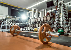 Weight in gym Royalty Free Stock Photos