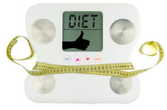Less weight Stock Image