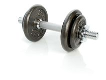 The weight and its reflection Stock Image