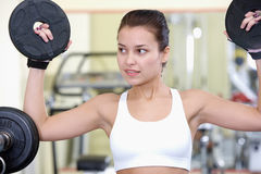 Weight lifter Royalty Free Stock Photos