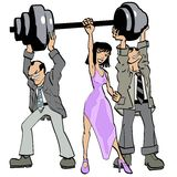 Weight Lifter Royalty Free Stock Photo