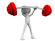 Weight lifter Stock Photos