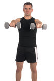 Weight Lifter Royalty Free Stock Photography