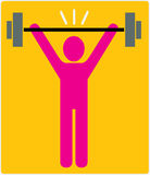 Weight Lifter Royalty Free Stock Image