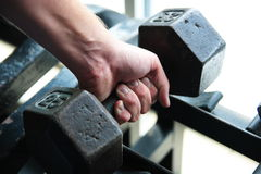 Weight lifting Royalty Free Stock Photography