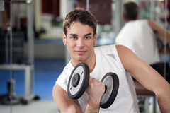 Weight lifting Stock Image