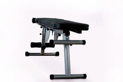Weight lifting bench isolated fitness sports equipment Royalty Free Stock Photos