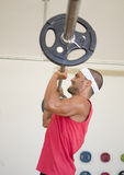 Weight lifting Stock Photography