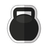 Weight lifting equipment icon Stock Photos
