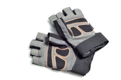 Weight lifting gloves Royalty Free Stock Images