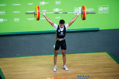 Weight Lifting Royalty Free Stock Photos