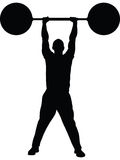 Weight Lifting Strength Royalty Free Stock Photos