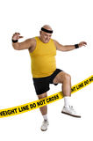 Weight line Royalty Free Stock Photo