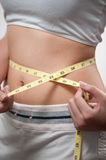 Weight loss Royalty Free Stock Images