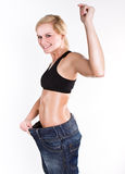 Weight loss Royalty Free Stock Photos