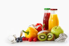 Free Weight Loss And Healthy Diet Concept Stock Photo - 129630940