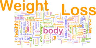 Weight loss background concept Royalty Free Stock Photography