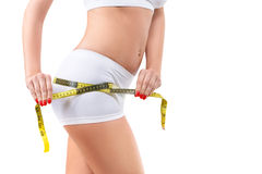 Weight loss and cellulite concept Royalty Free Stock Image