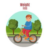 Weight Loss Colorful Concept Royalty Free Stock Photos