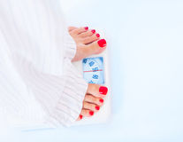 Weight loss concept Royalty Free Stock Image