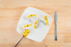 Weight Loss Diet Meal Royalty Free Stock Images
