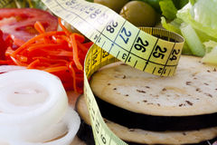 Weight loss, healthy diet Stock Photos