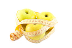 Weight loss and healthy dieting Royalty Free Stock Image