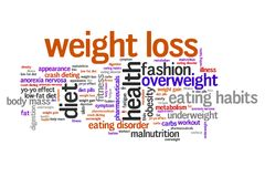Weight loss royalty free illustration