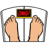 Weight Loss OMG Stock Photography