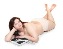 Weight Loss. Royalty Free Stock Photos