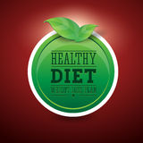 Weight loss plan diet Stock Images