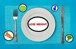 Weight Loss Products Royalty Free Stock Image