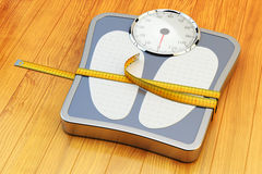 Weight loss, slimming, diet, and healthy lifestyle concept Stock Photo