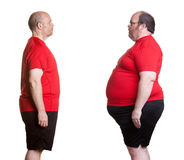 Weight Loss Success Stock Images