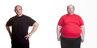 Weight Loss Success Stock Photography