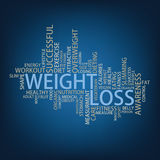Weight loss Tag Cloud Stock Image