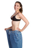 Weight Loss Woman Royalty Free Stock Photos