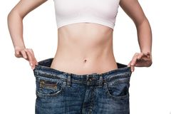 Weight loss Stock Image