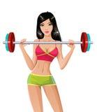 Weight lyfta Royaltyfria Bilder