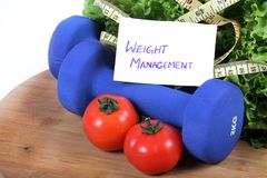 Weight management Stock Images