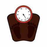 Weight measure Royalty Free Stock Images