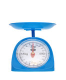 Weight measurement balance Royalty Free Stock Images