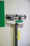 The weight measurement balance machine Royalty Free Stock Image