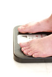 Weight measurement Royalty Free Stock Photos
