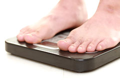 Weight measurement Royalty Free Stock Image