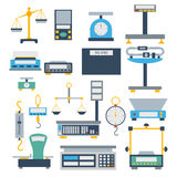 Weight measurement instrumentation tool vector. Royalty Free Stock Image